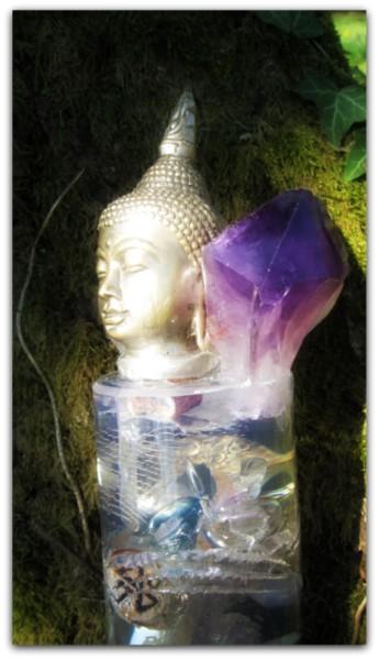amethyst buddha crystal